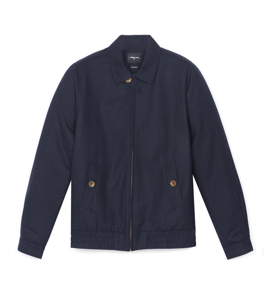 Jacket Achille    - Navy w/stripes