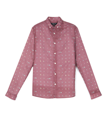Shirt Menand - Exode pattern