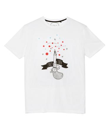 Tee-shirt Anniversaire - White