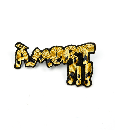 Broach Amort - Gold