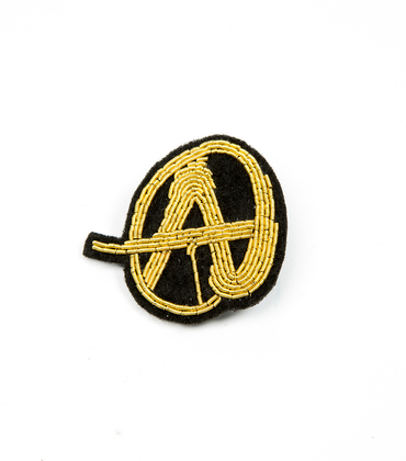 Broche Anarchie - Or