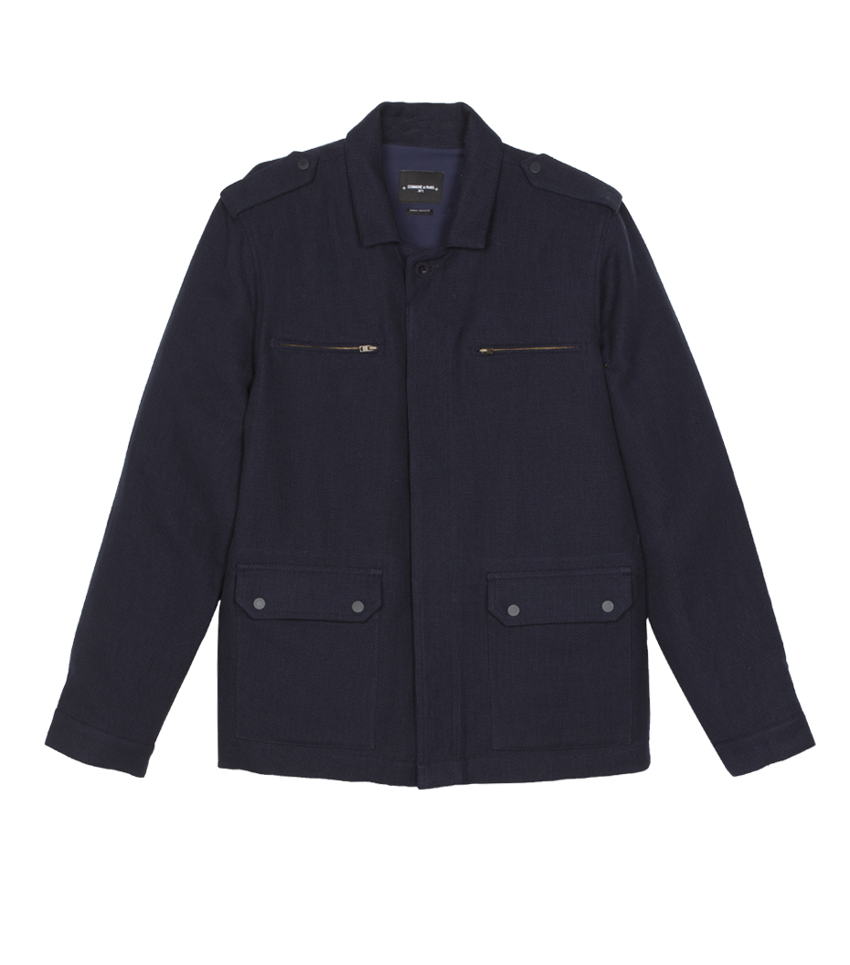 Blouson Military - Navy
