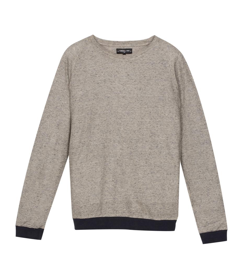 Long sleeves Pique - Marl beige