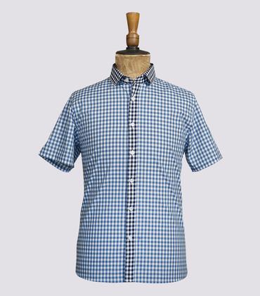 Shirt Duval - Blue vichy