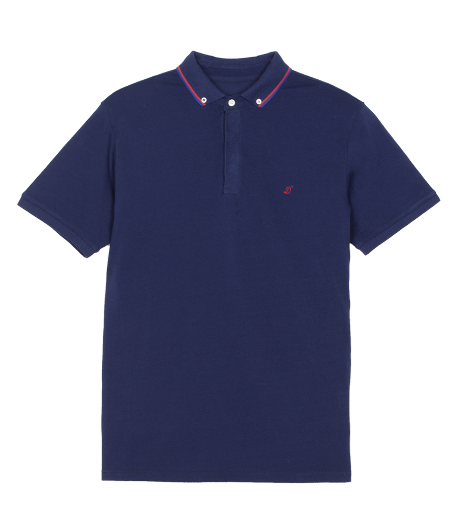 Polo-neck Dimanches - Navy