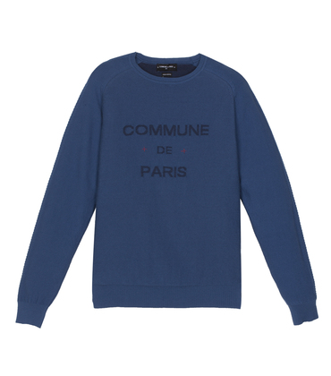 Pullover Sauval 02 - Blue