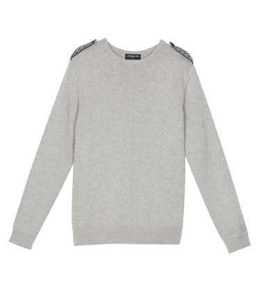 Pullover Vitry - Marl grey