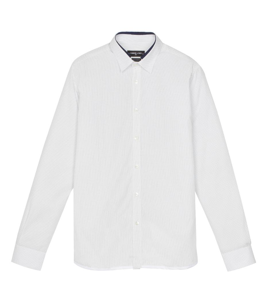 Shirt Jaroslaw 03 - White w/dots