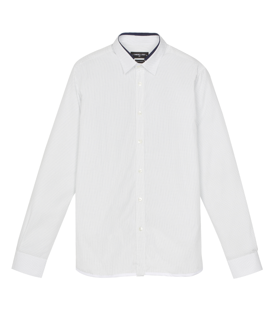 Shirt Jaroslaw 03 - White w/dots