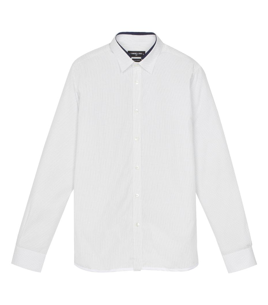 Chemise Jaroslaw 03 - Blanc à pois