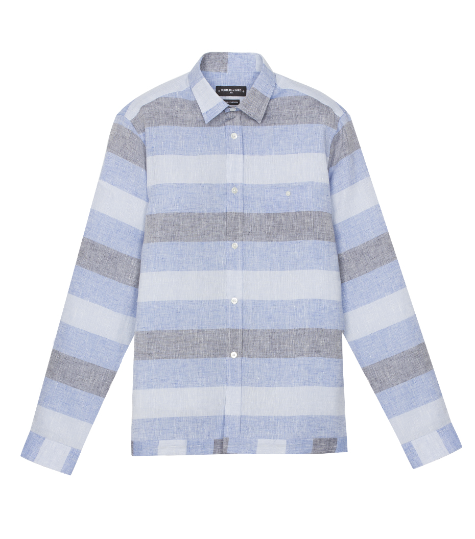 Shirt Trinquet - Blue stripes