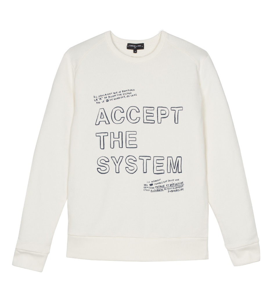 Sweat Accept - Offwhite
