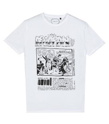 Tee-shirt Deadpan - Blanc