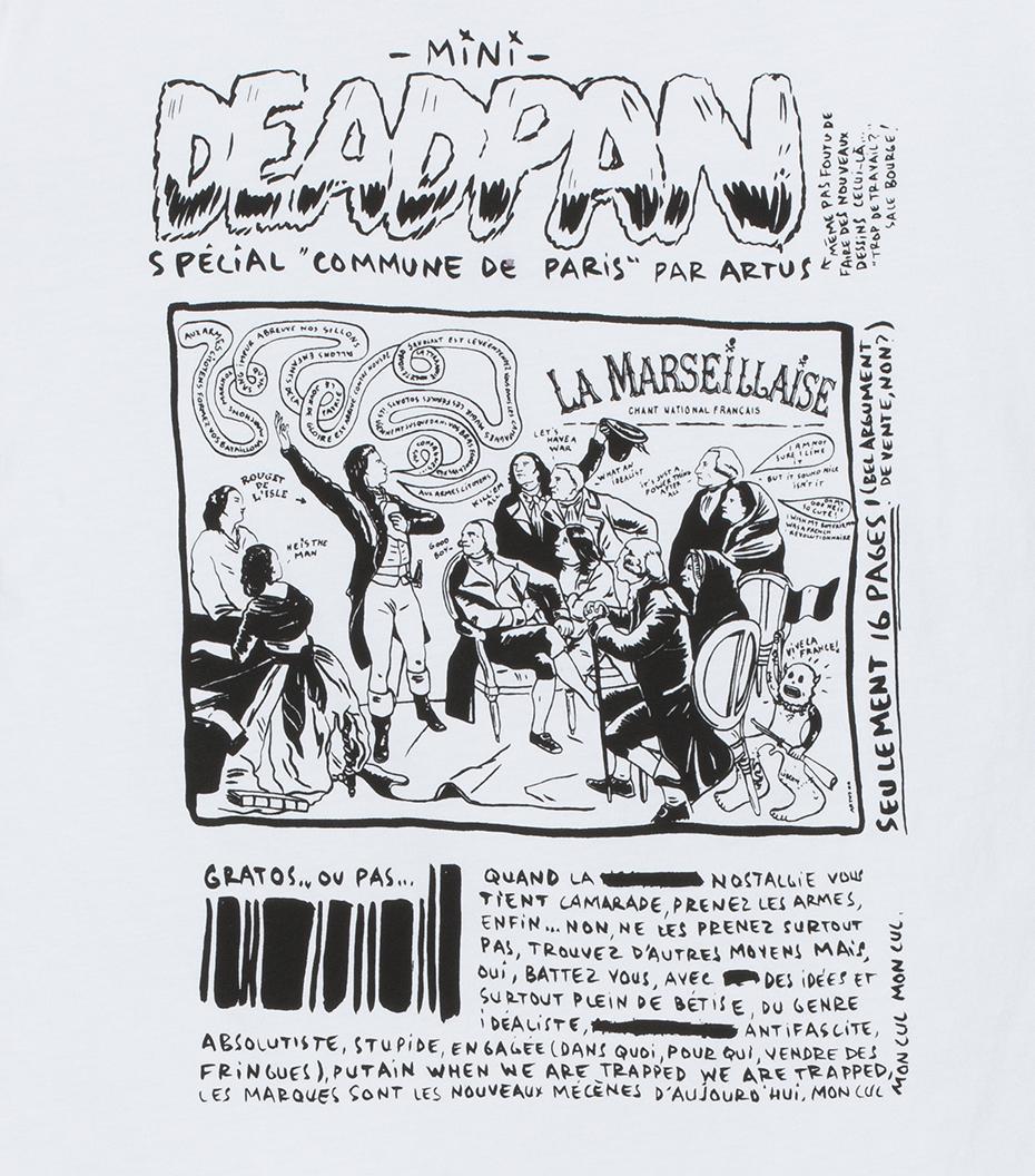 Tee Deadpan - White