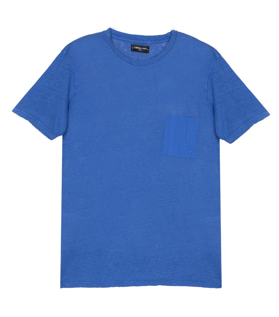 Tee Linen - Blue
