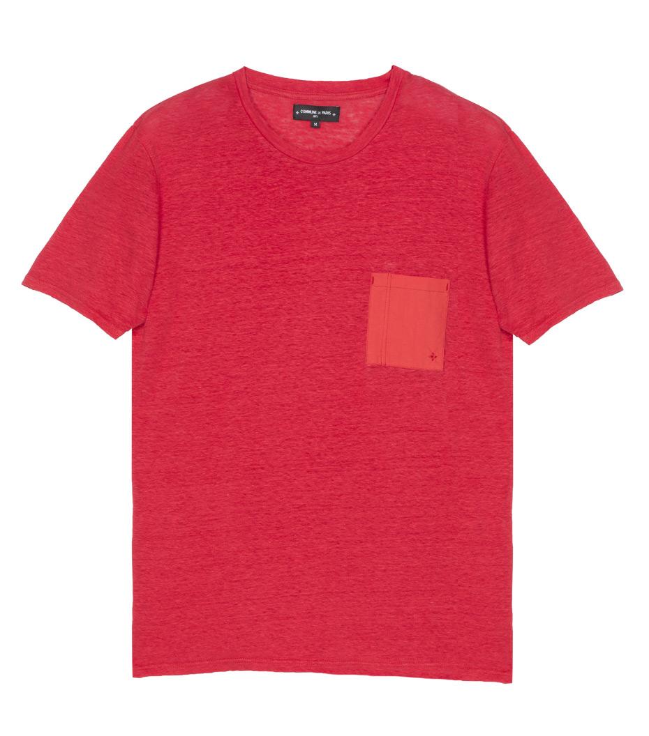 Tee Linen - Red