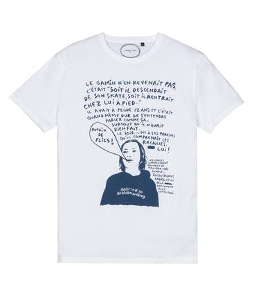 Tee-shirt Putain - Blanc