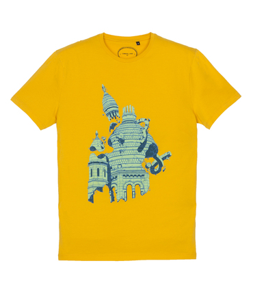 Tee-shirt Sacre - Jaune