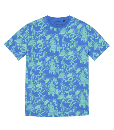 Tee-shirt Ugo - Imprimé allover