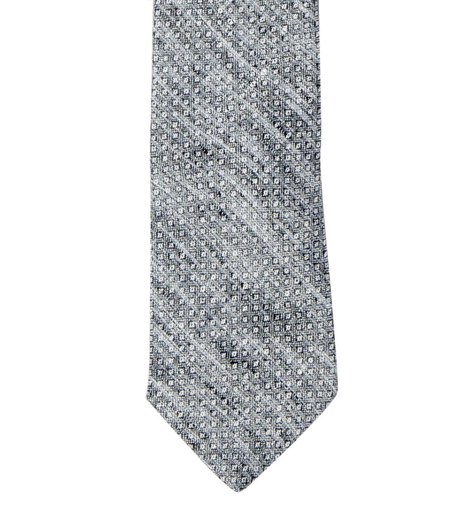 Tie CDP - Black linen