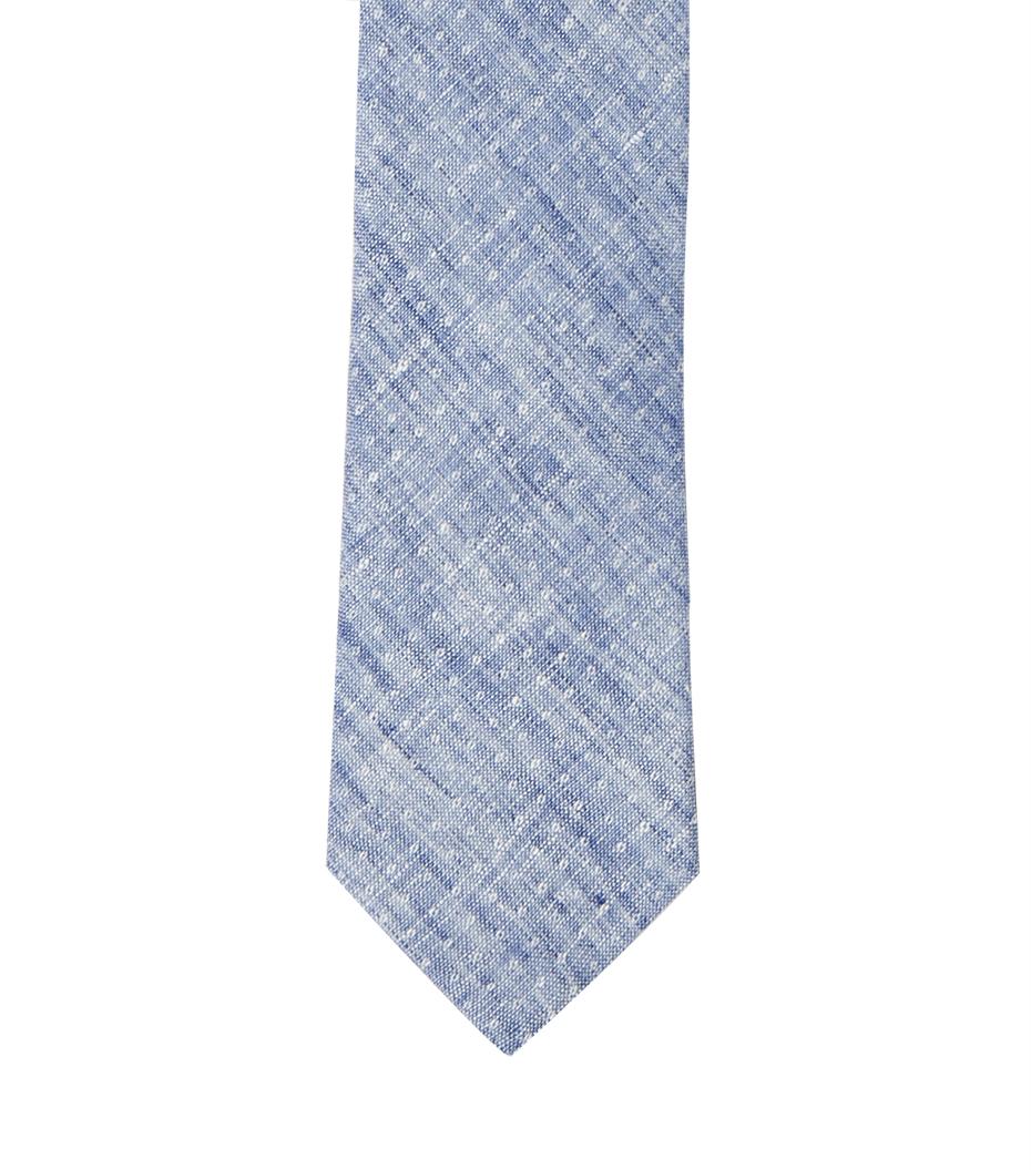 Tie CDP - Blue linen
