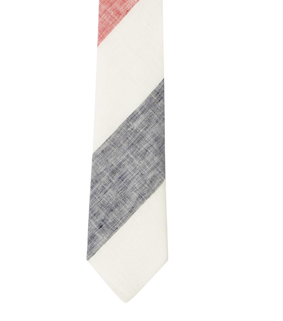 Tie CDP - White stripes
