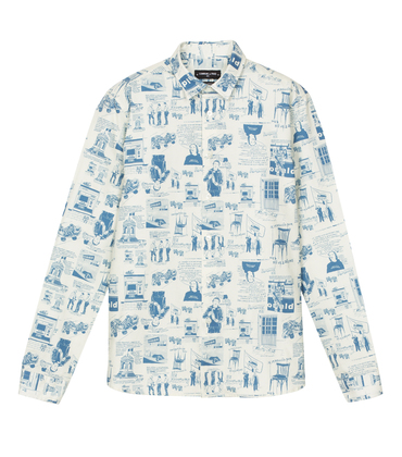 Shirt Lullier Artus - Artus print