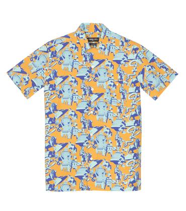 Shirt Hawai Ugo - Ugo print