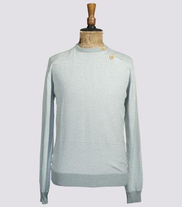 Sweater Valérien - White/grey