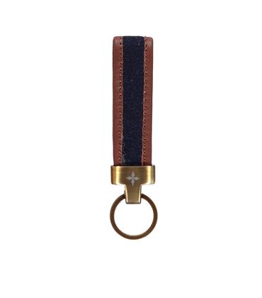Keys holder 05 MAI - Blue felt