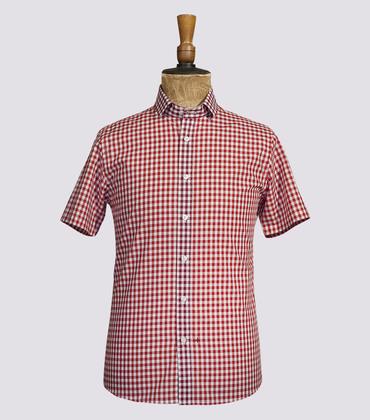 Shirt Duval - Red vichy