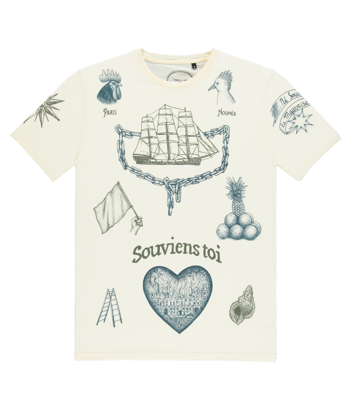 Tee-shirt Tatto - Écru