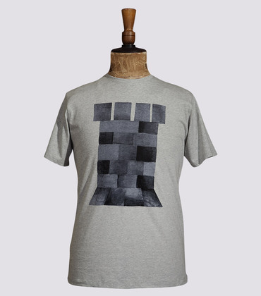 Tee-shirt La Tour - Marl grey