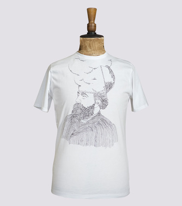 Tee-shirt Monsieur - White