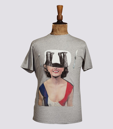 Tee-shirt Marianne - Marl grey