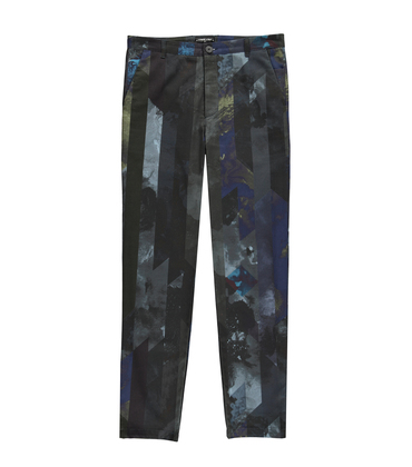 Pants GN6 - Printed blue