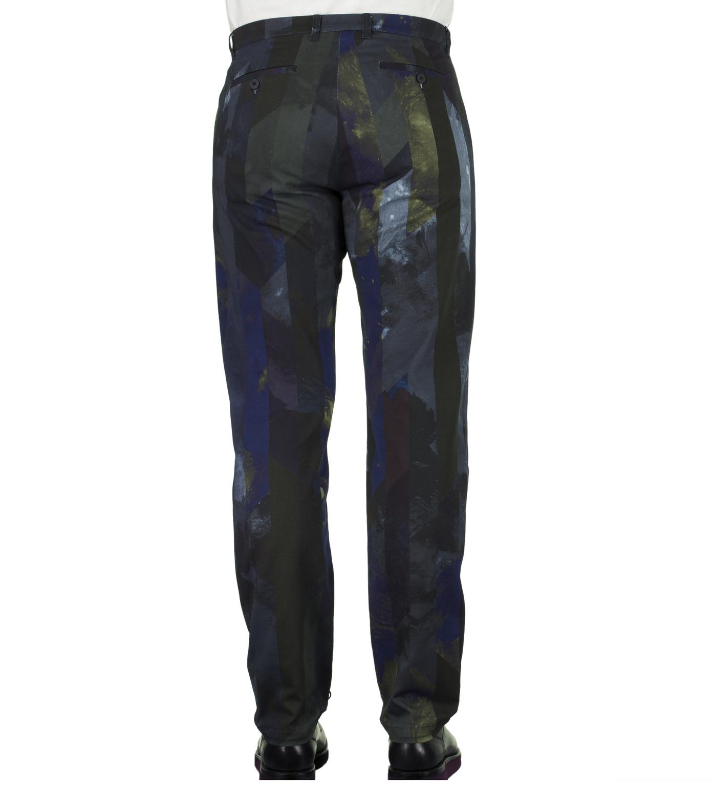 Pants GN6 - Printed blue