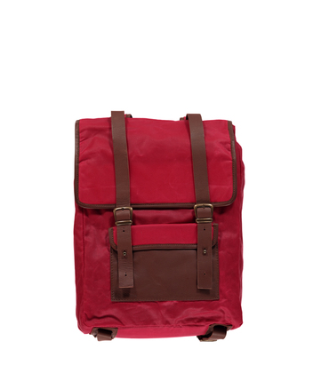 Backpack Dimanches - Wax red