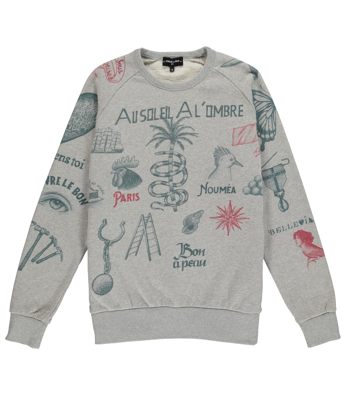 Sweatshirt Fortifem - Marl grey