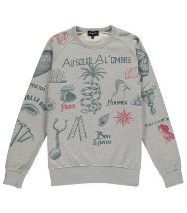 Sweatshirt Fortifem - Gris chiné