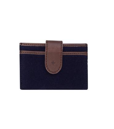 Cards holder 04 MAI - Blue felt
