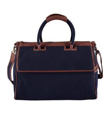 Bag 01 MAI 01 - Blue felt
