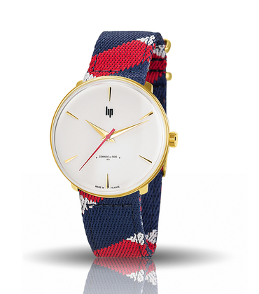 Montre Panoramic 1871 - Bleu/rouge