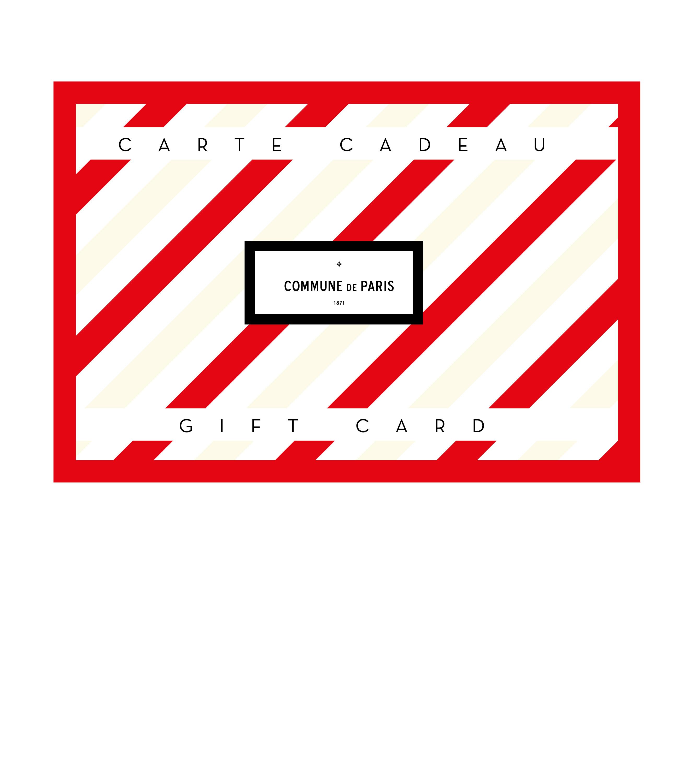 CARTE CADEAU - Carte rouge 200€