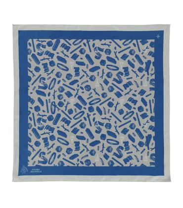Silk scarf Chaos