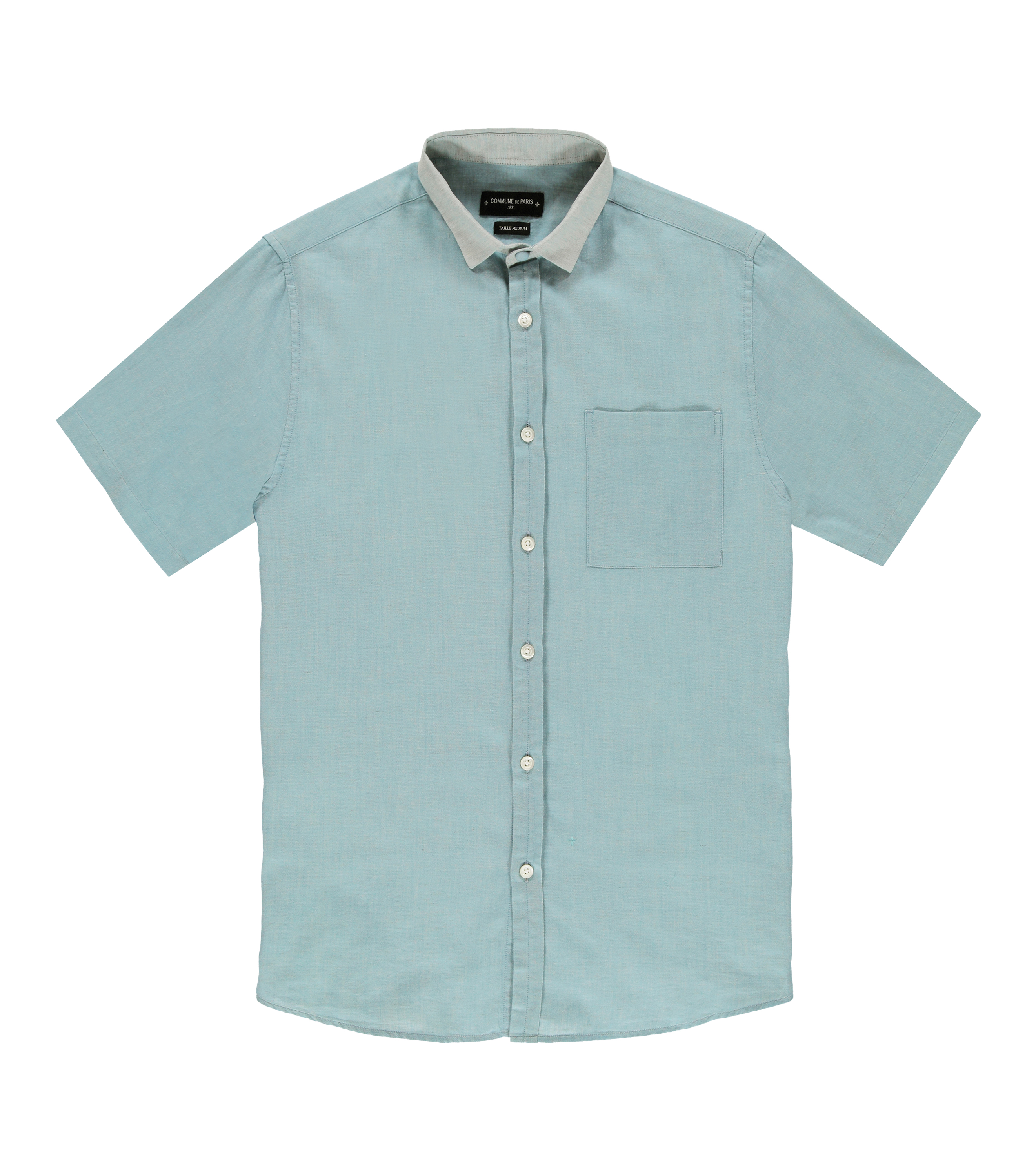 Shirt Dimitrieff 02 - Turquoise