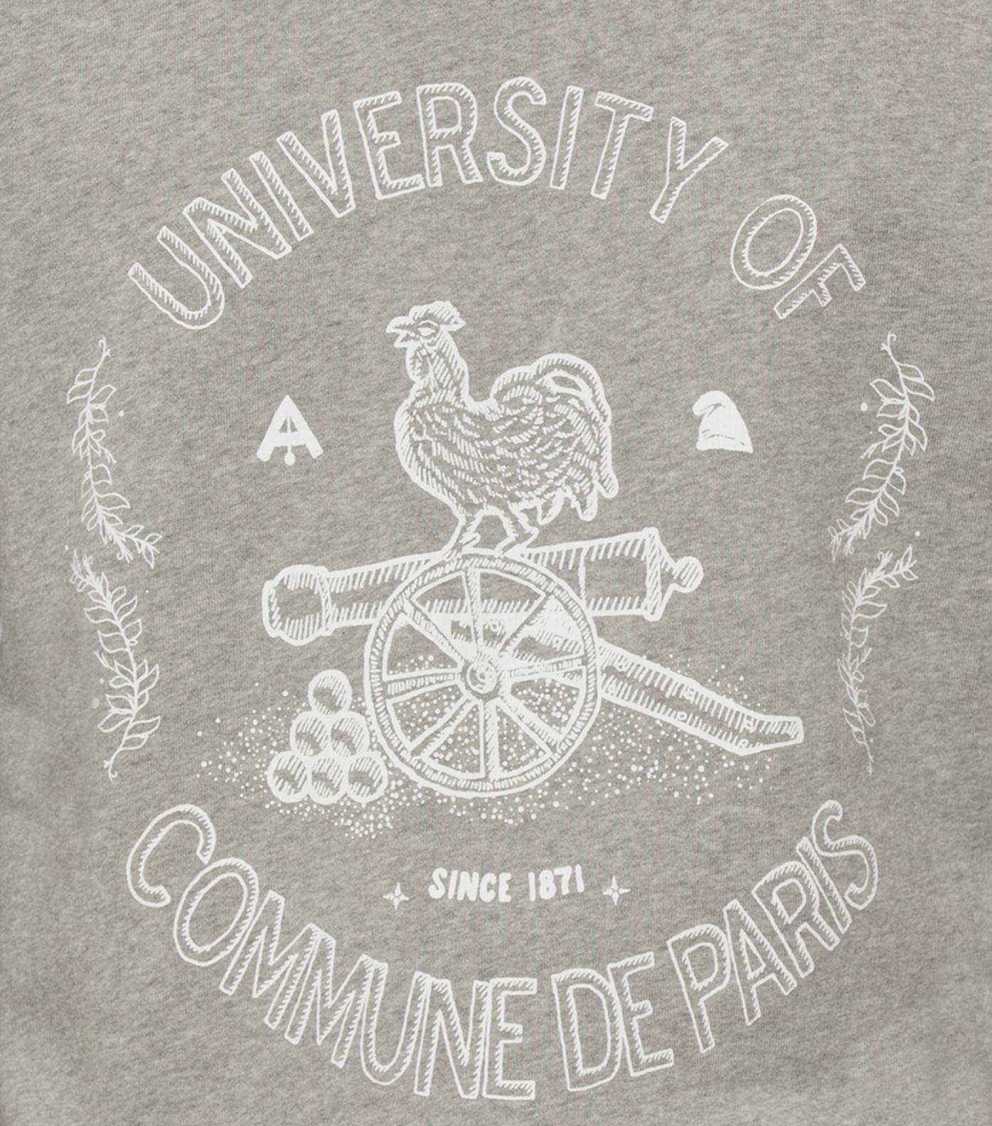 Sweatshirt University - Marl grey