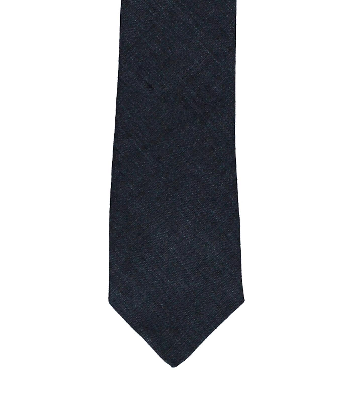 Tie CDP - Navy linen