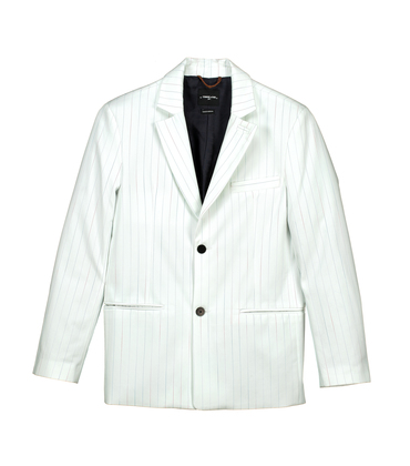 Suit Jacket Protot-S 02 - Large stripes print