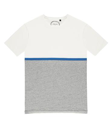 Tee Moitié - Offwhite/grey